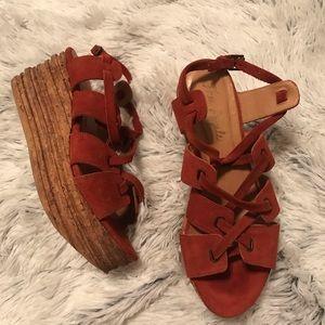 Free People Shoes - Free People Hayfield platform sandles